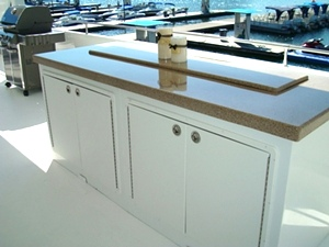 Bars, Outdoor Kitchens and Bar Height Tables