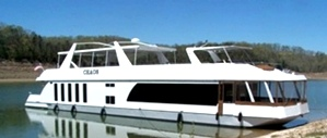 Standard Barge Style Hull with Hybrid Windows