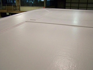Fiberglass Roof Top Edge Options